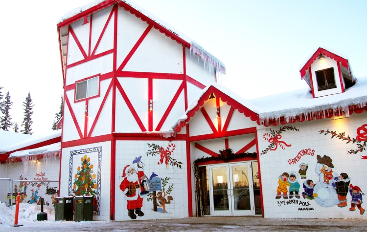 santa claus house north pole alaska - Santa And The North Pole
